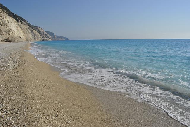 Egremni plaža Lefkada
