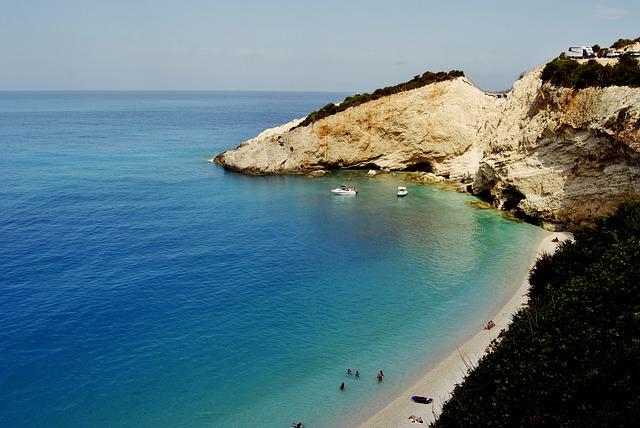 Porto Katsiki plaža Lefkada